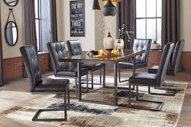 ashley 7 piece esmarina rectangular dining table set