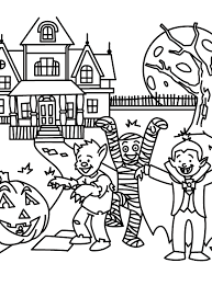 coloring pages stunning free halloween coloring pages crayola