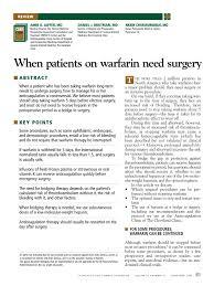 support ran bureau ccjm warfarin pdf thrombosis stroke