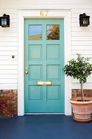 Blue Front Door Meaning by What Does Your Front Door Color Say About You Southern Living