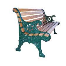 antique style vintage wood slat park benches