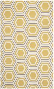 Yellow Area Rug Mercury Row Cassiopeia Hand Woven Ivory Yellow Area Rug U0026 Reviews