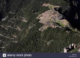 Machu Picchu Map Machu Picchu Aerial View Of Ancient Inca Ruins And