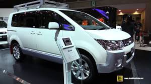 mitsubishi van 2016 mitsubishi delica d5 van exterior and interior walkaround