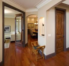 Laminate Flooring In Doorways Wood Molding Interior Entry Traditional With Arched Doorway Wood