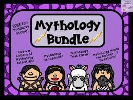 mythology bundle four awesome products activities elementary