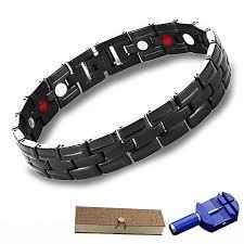 magnetic bracelet tool images Buy generic man bracelet cuffs health magnet magnetic energy black jpg