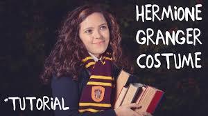 hermione granger halloween costumes last minute hermione granger costume youtube