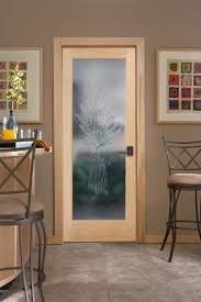 Kitchen Interior Doors Cast Wheat Decorative Glass Interior Door Kitchen Sacramento