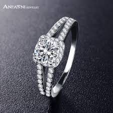 diamond rings sale images Anfasni 2017 hottest sale engagement rings jewelry silver color jpg