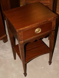 Hepplewhite Bedroom Furniture by Hepplewhite One Drawer Mahogany Night Stand