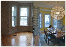 dining room with bay window rdcny