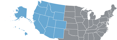 Map Of Western United States Western Usa Hosted Business Phone Systems Save Up To 65 Crexendo