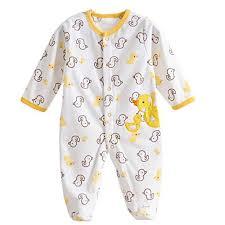 baby footie romper newborn pajamas sleep play jumpsuit