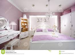 Pink Bedroom Stylish Pink Bedroom For Woman Royalty Free Stock Photo Image