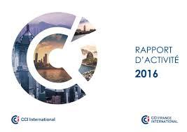 chambre de commerce et d industrie rapport d activité 2016