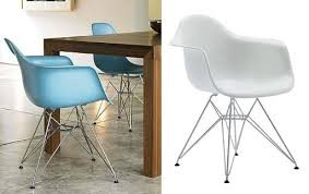 eames molded plastic armchair u2014 dining and side chairs better
