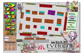 Evcc Campus Map June 24 U0026 25 2017 U2013 Oddmall Emporium Of The Weird U2013 Everett