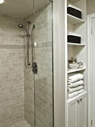 Towel Storage In Small Bathroom by Glass Shower Cabin Parittion Walls Shower Head Ceramic Bathroom