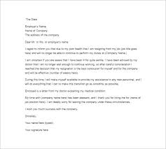 job resignation letter template u2013 10 free word excel pdf format
