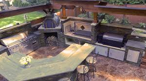 kitchens with brick pizza ovens outdoor kitchen with argentinian