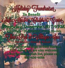 holiday fundraiser for safe harbor at village inn and pub