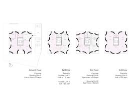 Floor Plan Manual Housing by Low Cost Apartments Incorporating Smart Materials Hamburg