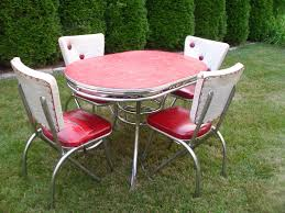 Retro Outdoor Furniture by Vintage Kitchen Table Sets And Photos Madlonsbigbear Com