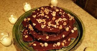 vegan birthday cake hazelnut cake with homemade nutella vegan