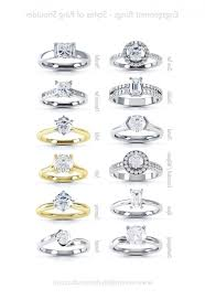 types of engagement rings wedding rings types of engagement ring settings different styles