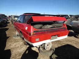 junkyard find 1985 subaru xt 4wd turbo the truth about cars