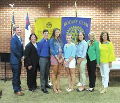 greenville rotary club awards scholarships grants daily advocate