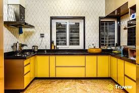lacquered glass kitchen cabinets a gorgeous kitchen in marigold lacquered glass finish