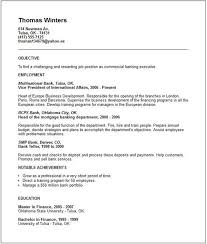 Resume Header Example by Custom Resume Writing Good
