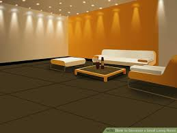 decorate livingroom how to decorate a small living room 10 steps with pictures