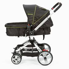 amazon com the first years wave stroller black green