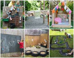 Backyard Play Ideas by 15 Backyard Play Space Ideas For Kids The Realistic Mama