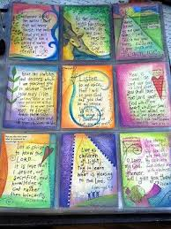 17 best images about scripture atcs on pinterest fabric tags