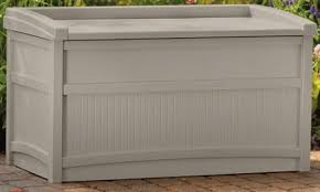 Suncast Patio Storage Bench Suncast 50 Gallon Outdoor Deck Storage With Bench Outdoor Room Ideas