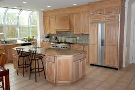 Canyon Kitchen Cabinets by Country Kitchen With Breakfast Bar U0026 Bay Window In Boonton Nj