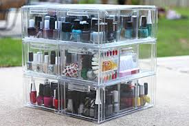 brilliant nail polish organization and storage ideas