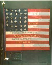 Civil War Battle Flag In Honor Of These In Memory Of All February 2012