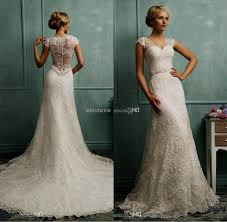 wedding gowns for sale vintage lace wedding dresses with capped sleeves naf dresses