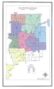 Michigan Zip Code Map City Council U2013 City Of Flint