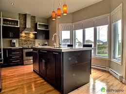 cuisine armoire brune cuisine moderne concoit des espaces