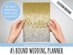 custom ultimate wedding planner a5 wedding organizer wedding