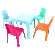 plastic table with chairs kids plastic table and chairs cheap preschool furniture used kids