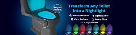 glowbowl transform any toilet into a nighlight review glowmybowl