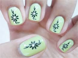 cute nail polish designs to do at home cool easy nail polish