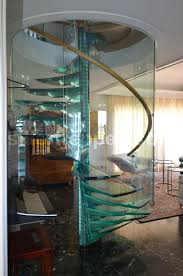 spiral glass stairs structural glass stairs spiral stair with